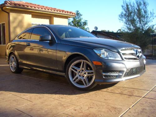2013 Mercedes C250 Coupe. Beautiful Extremely Low miles Luxury Car!